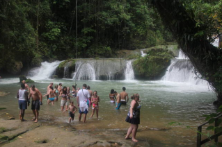 Montego Bay hotels or villa to YS Falls Day Tour