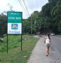 Montego Bay Airport Taxi to Ocho Rios Jamaica